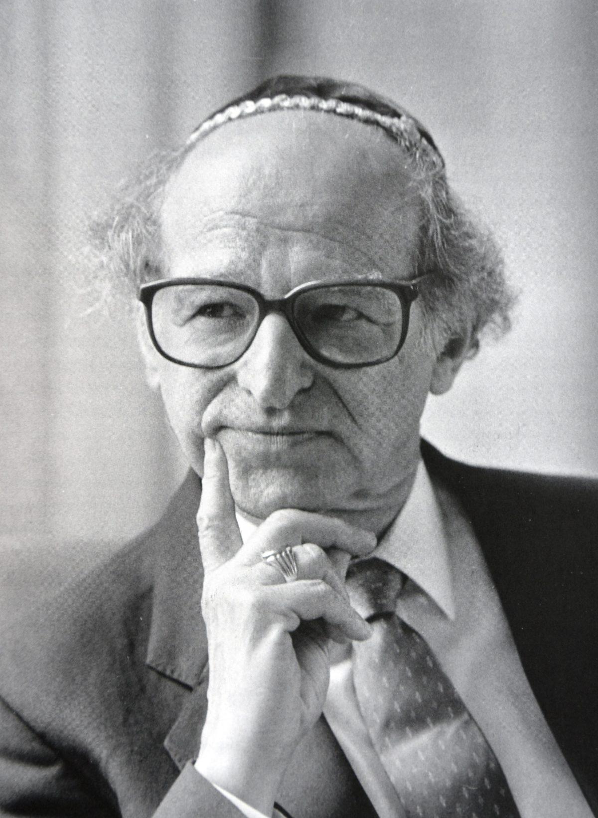 Friedenspreisträger Nathan Peter Levinson gestorben