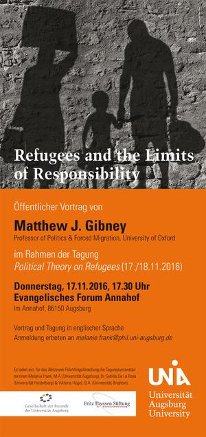 Uni-Tagung zur Flüchtlingsforschung
