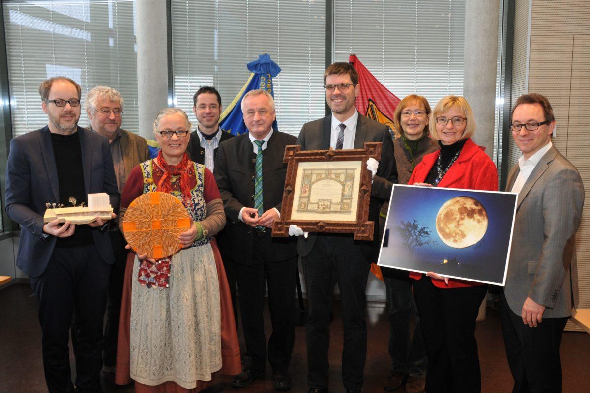 Augsburg, Bezirk Schwaben, Saal Donau, Pressekonferenz Kultur